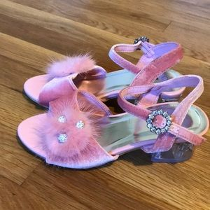 Girls dress shoes size 2 pink